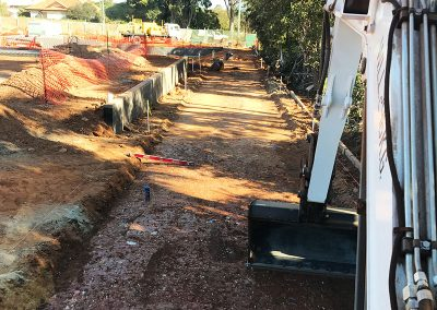 trenching-backfilling